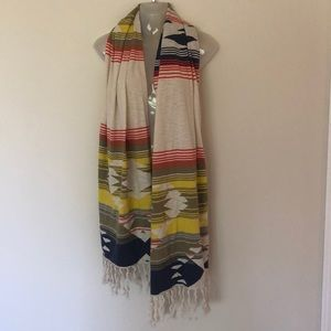 Esprit Native American type print Scarf/wrap